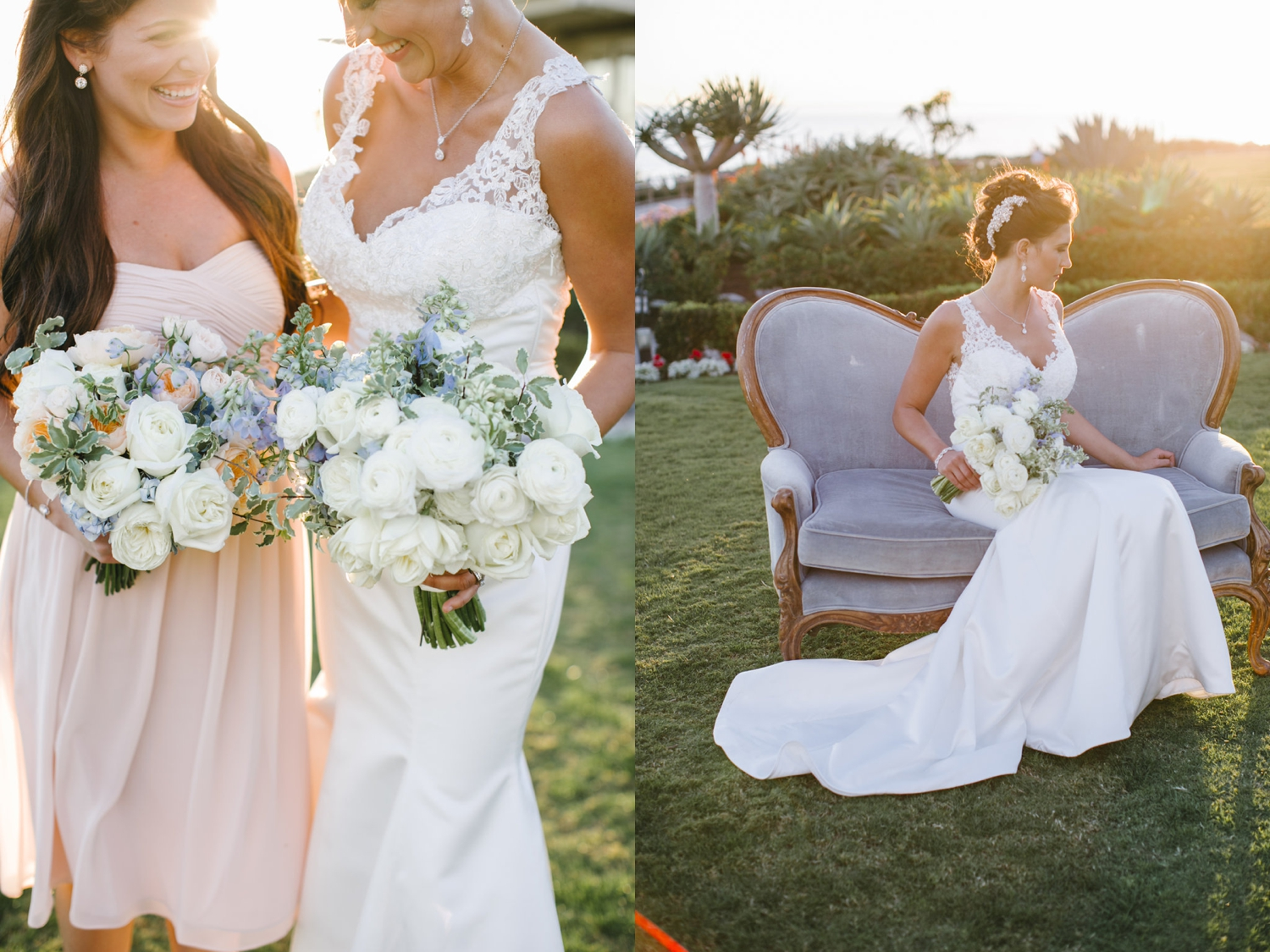 Montage Laguna Beach Wedding: Styled Shoot: Something Blue Featured In Bridal Guide